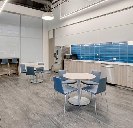 Elliptical Machines in Built's Fitness Center