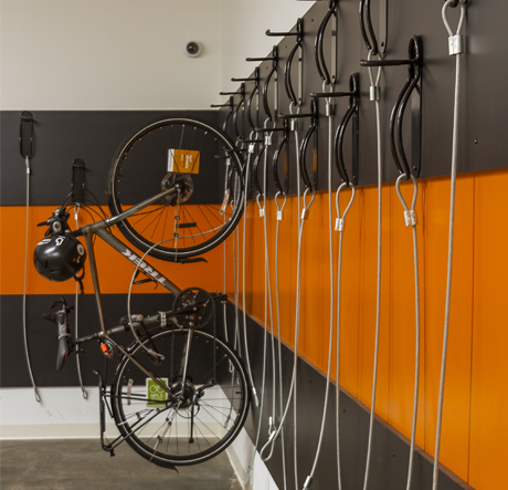 Bike Storage Room at Built.